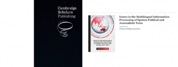 "Christina Alexandris: New book by ""Cambridge Scholars Publishing"""